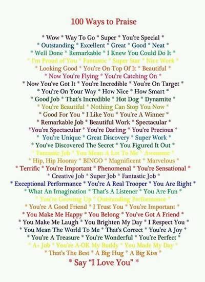 İngilize'de TAKDİR, BEĞENİ ve ÖVGÜ ifade etmenin 100 yolu