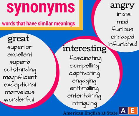 synonyms words2