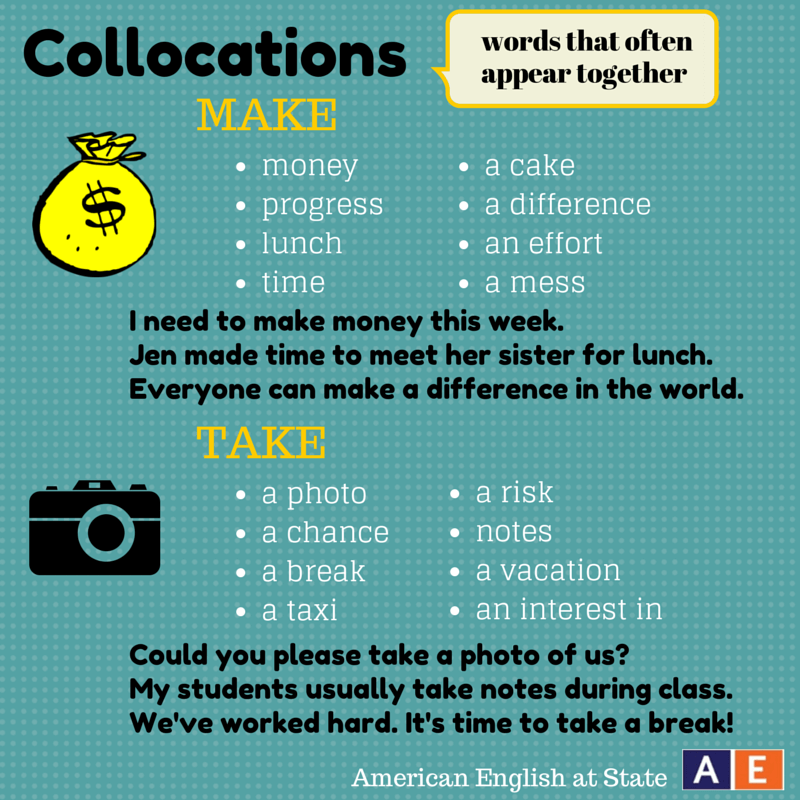 collocations (yds)