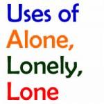 kullanışları-lonely-lone-alone
